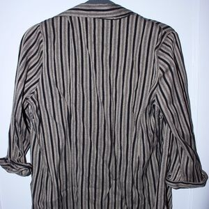 2-in-1 Black & Striped Top